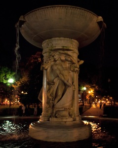 Fountain--The gathering place
