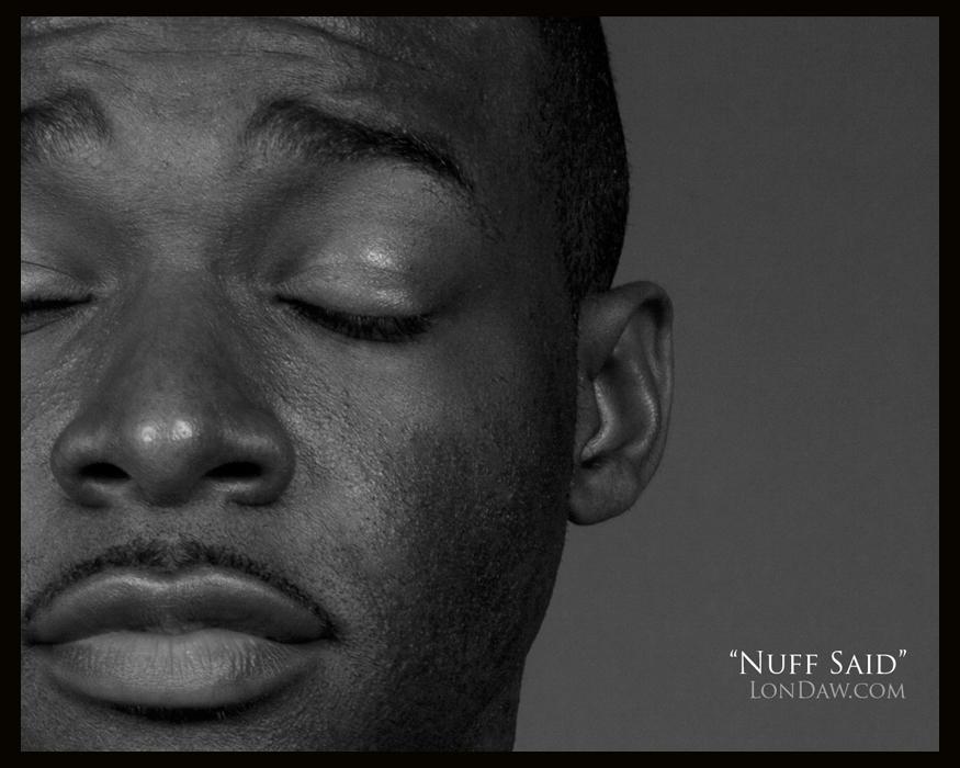 Portrait- Ebony male headshot Lonnie Dawkins