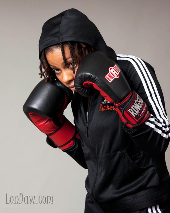 woman boxer K.Nicole