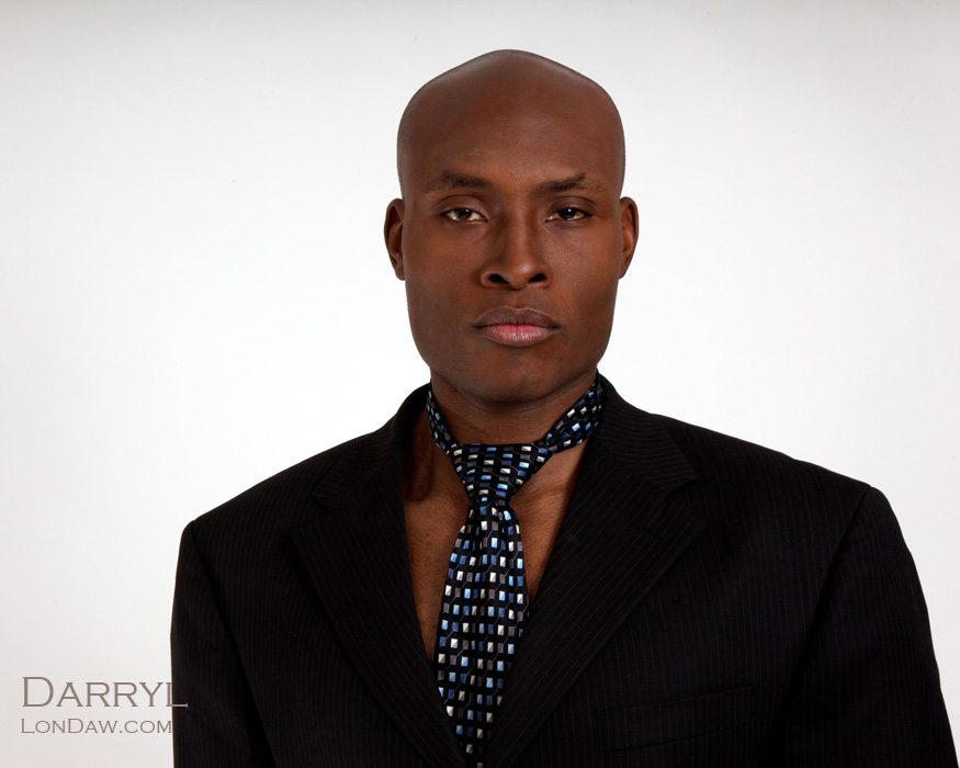 Darryl in suit tie