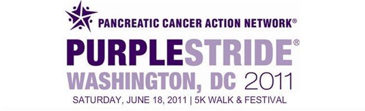 Purple Stride 5K Walk and festival