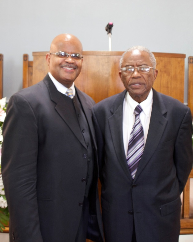 Graylon Freeman and Fred D. Gray at 13th Street Church of Christ Washington DC