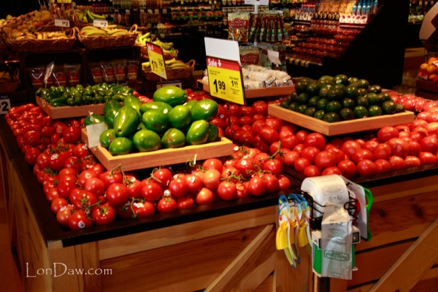 Tomatoes and other vegetables