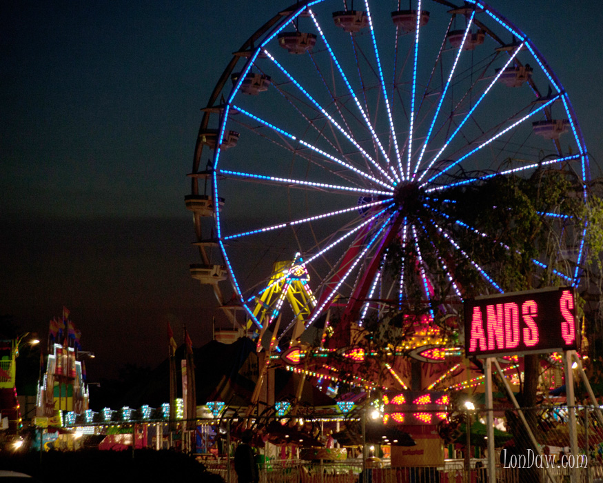 The Carnival Returns to Town. The Ferris Wheel | Lonnie ...