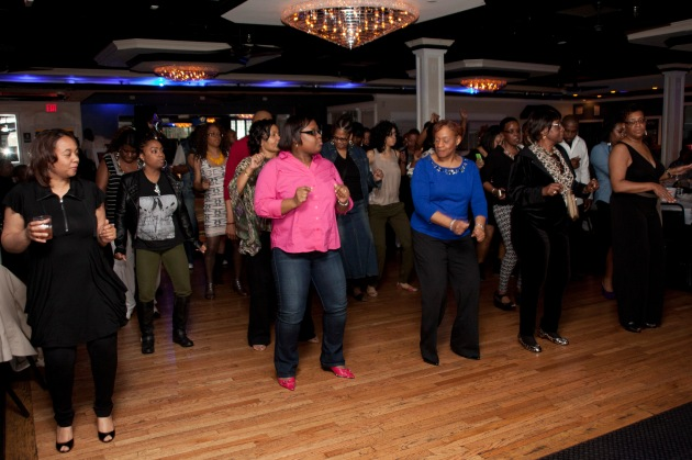 dancing wobble at birthday party