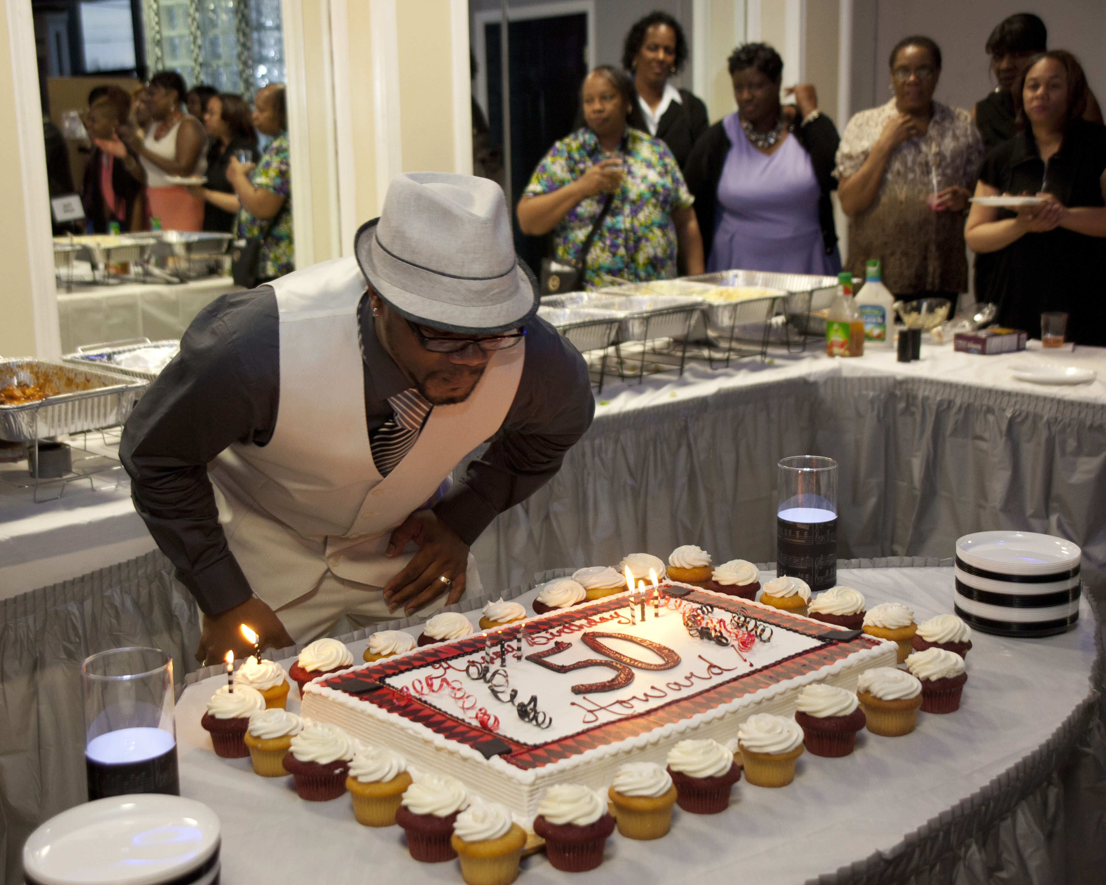 50th Birthday Celebration Pictures Great Party Lonnie Dawkins