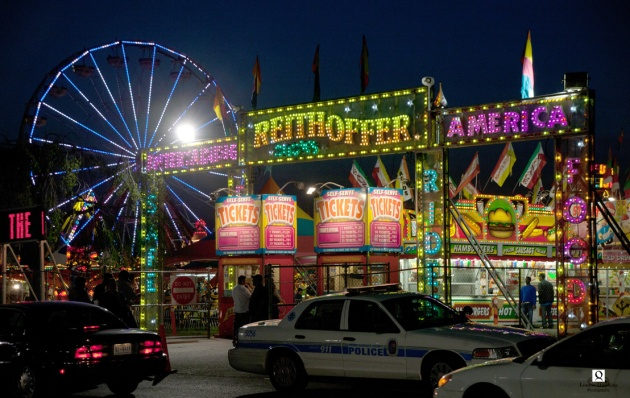 summer night carnival in Prince Georges County MD