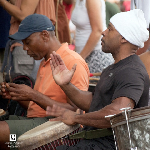 4-Drummer in Malcolm X park