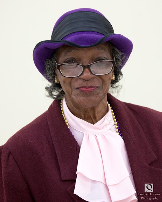 senior african americn woman