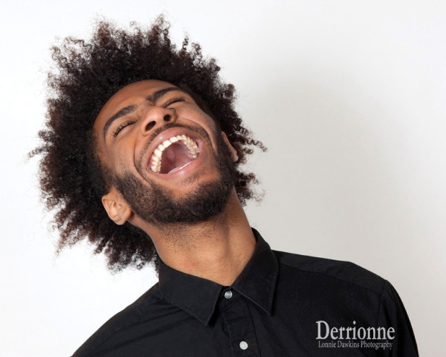 Marylland Portraits - Laughing male model